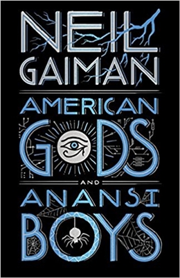 American gods and anansi boys (leatherbound edn)
