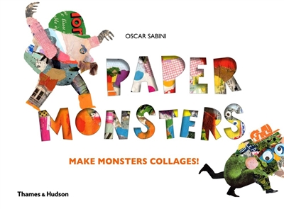 Paper monsters make monster collages!