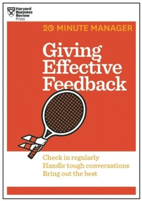 20 minute manager giving effective feedback