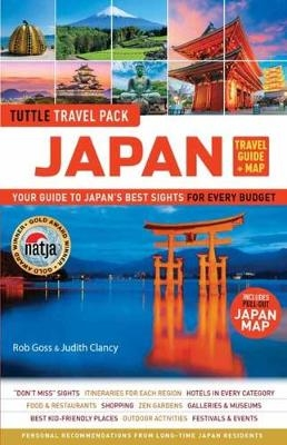 Japan travel guide and map