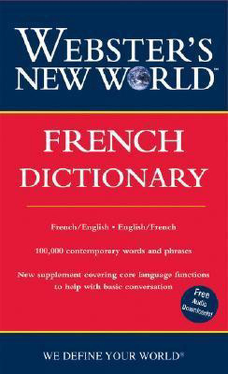 Webster's New World French Dictionary