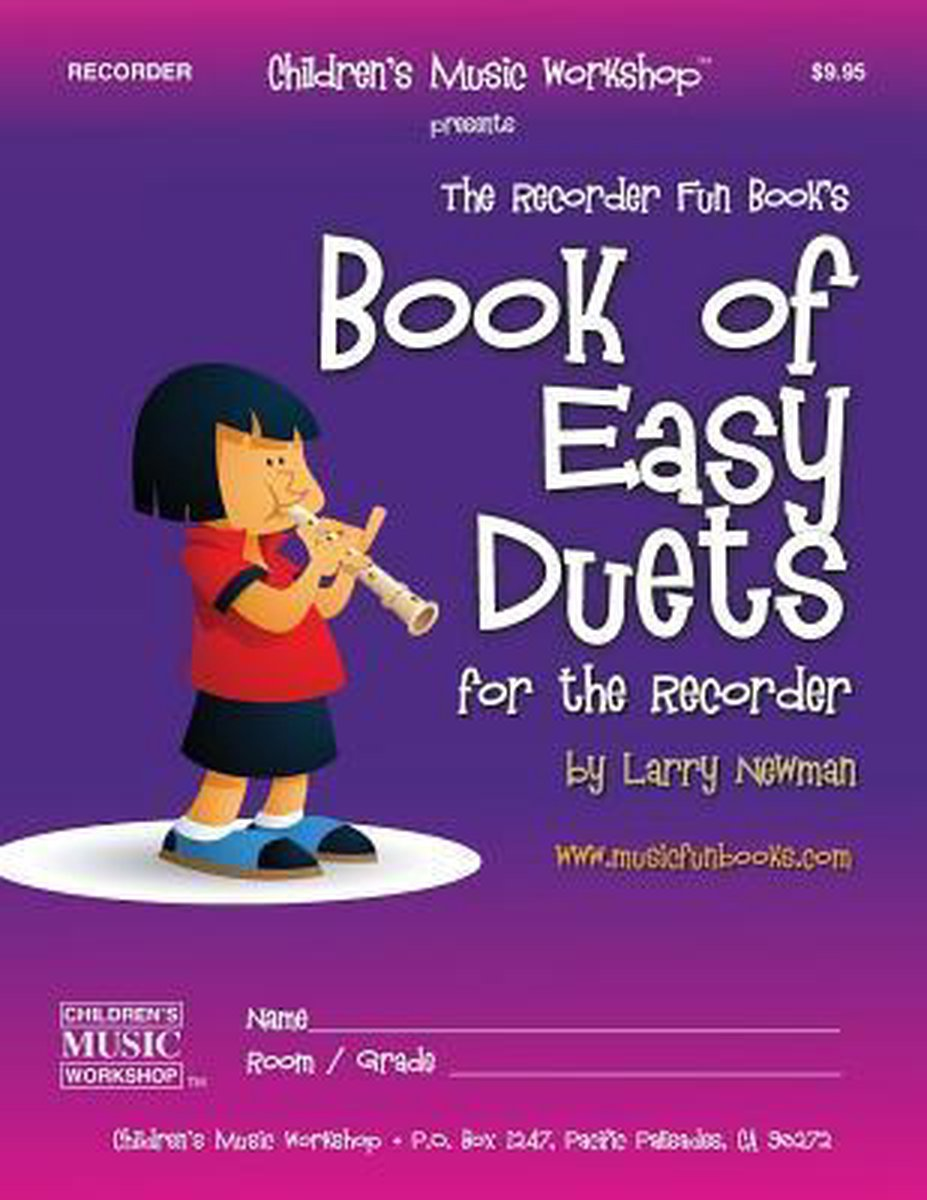Book Of Easy Duets For The Recorder